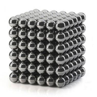 Неокуб 5 мм, черный в металлической коробке