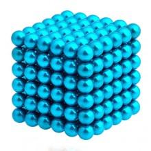 Неокуб 5 мм, синий в металлической коробке