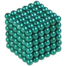 Неокуб 5 мм, зеленый в металлической коробке