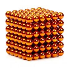 Неокуб 5 мм, оранжевый в металлической коробке