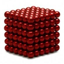 Неокуб 5 мм, красный в металлической коробке
