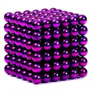 Неокуб 5 мм, фиолетовый в металлической коробке