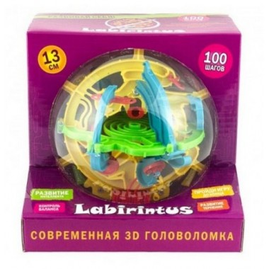 Лабиринтус 100 шагов 13 см