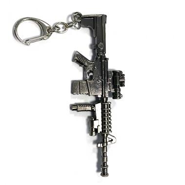 Металлический брелок Автомат М-16