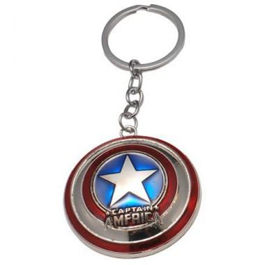 Металлический брелок Капитан Америка Щит