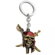 Металлический брелок Пираты Карибского Моря