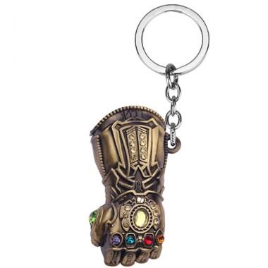 Металлический брелок Марвел Танос перчатка