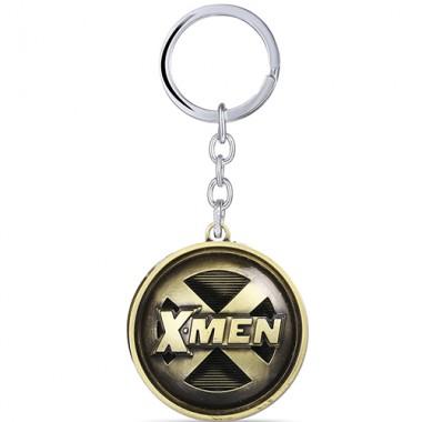 Металлический брелок X-men