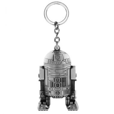 Металлический брелок Звёздные Войны R2-D2