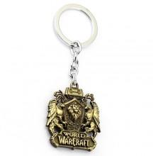 Металлический брелок World Of Warcraft Герб Альянса
