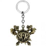 Металлический брелок World Of Warcraft Герб Орков