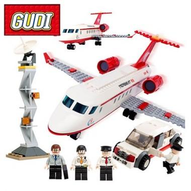 Конструктор Gudi Airport 8911