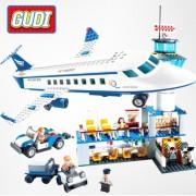 Конструктор Gudi Airport 8912