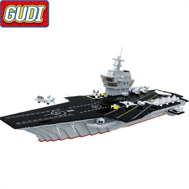 Конструктор Gudi Авианосец 8029