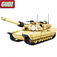 Конструктор Gudi M1A2 Abrams U.S. Main Battle Tank 6102