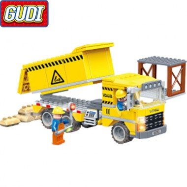 Конструктор Gudi Cool Engineering Team 9501