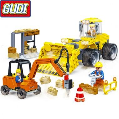 Конструктор Gudi Cool Engineering Team 9503
