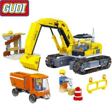 Конструктор Gudi Cool Engineering Team 9504