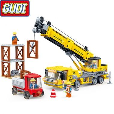 Конструктор Gudi Cool Engineering Team 9505