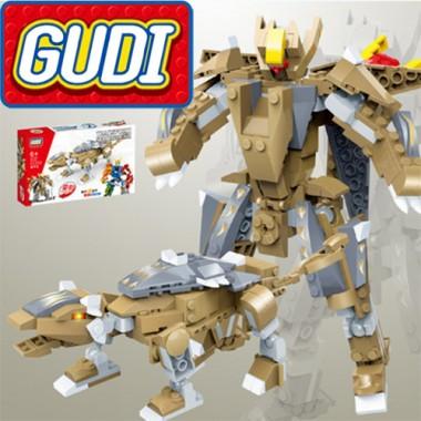 Конструктор Gudi Transformer Dinosaur 8725