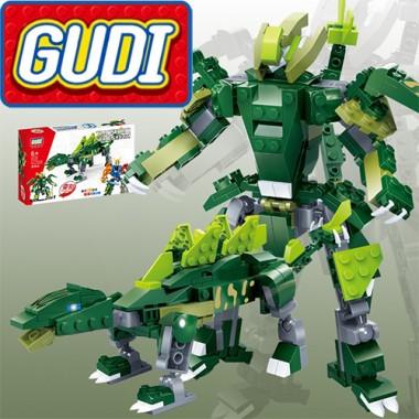 Конструктор Gudi Transformer Dinosaur 8726