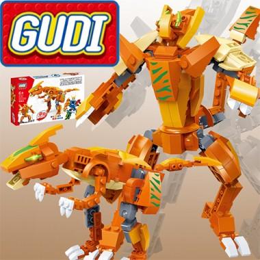 Конструктор Gudi Transformer Dinosaur 8727