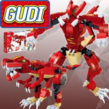Конструктор Gudi Transformer Dinosaur 8728