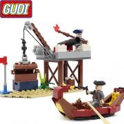 Конструктор Gudi Legend Of Pirates 9108