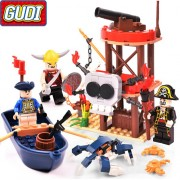 Конструктор Gudi Legend Of Pirates 9109