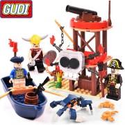 Конструктор Gudi Legend Of Pirates 9109