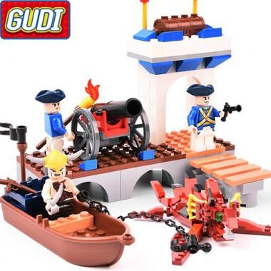 Конструктор Gudi Legend Of Pirates 9111