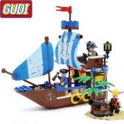 Конструктор Gudi Legend Of Pirates 9112