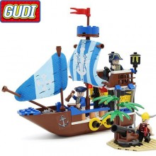 Конструктор Gudi Legend Of Pirates 9112