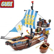 Конструктор Gudi Legend Of Pirates 9114