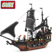 Конструктор Gudi Legend Of Pirates 9115