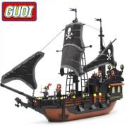 Конструктор Gudi Legend Of Pirates 9115