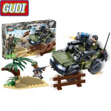 Конструктор Gudi Tiger Action 8031
