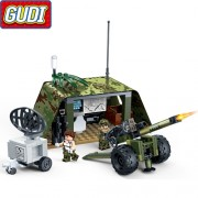 Конструктор Gudi Tiger Action 8032