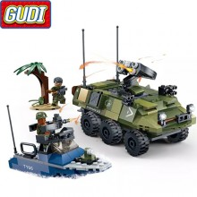 Конструктор Gudi Tiger Action 8033