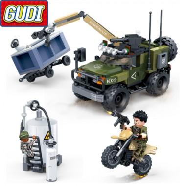 Конструктор Gudi Tiger Action 8034