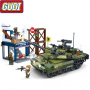 Конструктор Gudi Tiger Action 8036