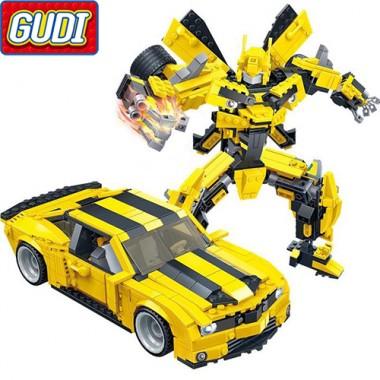 Конструктор Gudi Transformer 8715