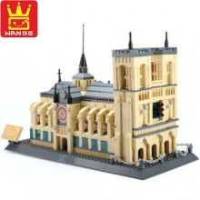 Конструктор Wange Notre-Dame Cathedral of Paris 5210