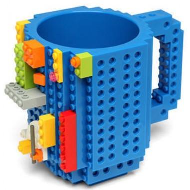 Сувенир Кружка Лего Пластмасса