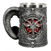 Сувенир Кружка Дьявол Металл
