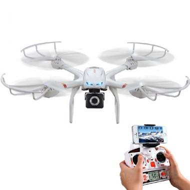 Квадрокоптер MJX X101 с HD камерой+Wi-Fi
