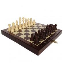 Шахматы магнитные деревянные, малые, арт. 140