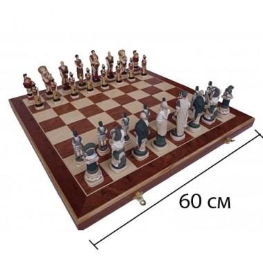 Шахматы ручной работы Спарта арт.156