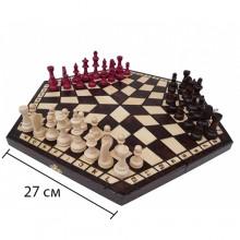 Шахматы  на три персоны арт.162