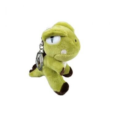 Брелок Динозавр салатовый (кигуруми)